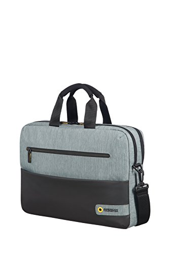 american-tourister-city-drift-bolsa-portaordenador-156-16-litros-color-negro-gris