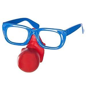 Carnival Toys 6818-Clown Gafas con Nariz
