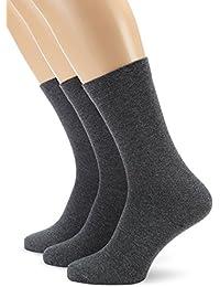 Nur Der Herren Ohne Gummi Socken 3er - Calcetines para hombre