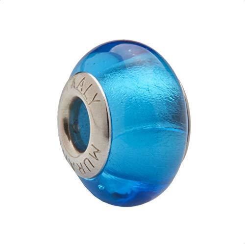 ANGELDEVIL Charm Cristal de Murano y Plata de Ley 925m 18-88a Compatible...