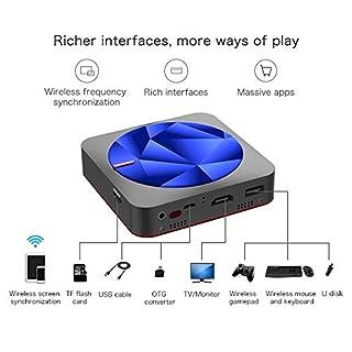 HUIGE Videoprojektor 1080P, Multimedia-Wireless-Tragbarer Mini-Projektor Für Home-Entertainment-LED, Eingebauter 6000Mah-Akku