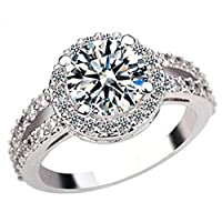 Luxurious SWAROVSKI Elements White Gold Plated Ring
