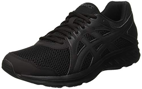 ASICS Mens JOLT 2 Trail Running Shoe, Black, 43.5 EU