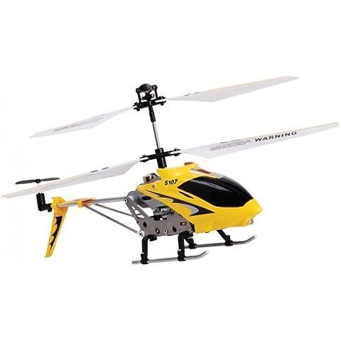 Rojo controlado estabilizador del helicóptero del aluminio I/R USB del sistema del giroscopio de Syma S107