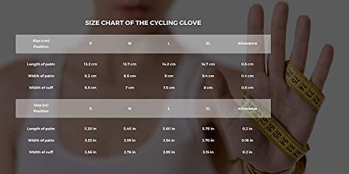Radsport Handschuhe Herren und Damen, Fahrradhandschuhe für Rennrad, Mountainbike, Krafttraining, Fitness, Reiten, Crossfit, Bergsteigen, Sport - 7