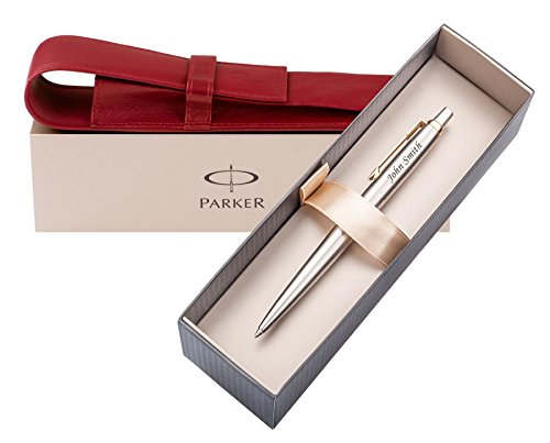 personalised-gift-idea-parker-with-london-pagani-collection-leather-pouch-laser-engraved-pen-with-yo