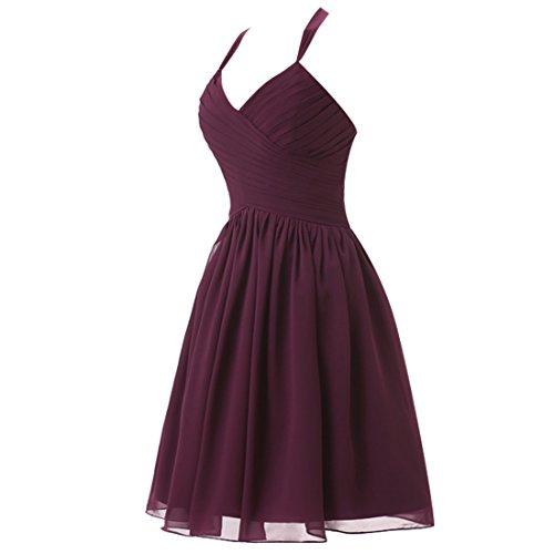 Find Dress Sexy Robe Desigual d'Anniversaire Fête Gala Robe de Mariée Courte Cérémonie Femme Rockabilly Swing Décolleté au Dos Robe Bal de Promo en Mousseline Rose