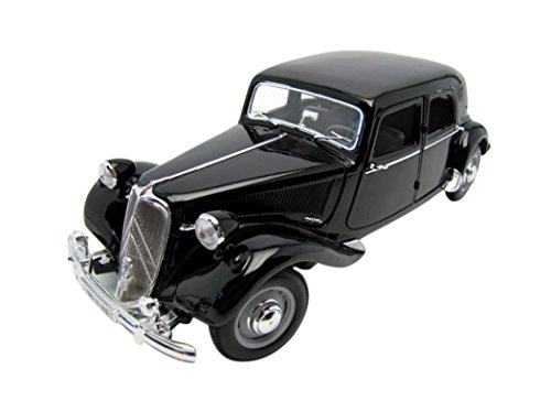 Maisto - 31821bk - Citroen Traction 15 Cv Six - Echelle 1/18