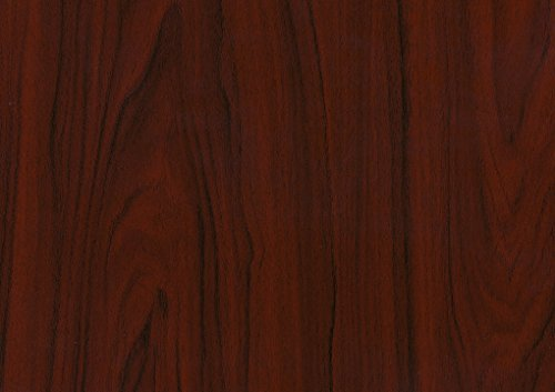 d-c-fix, Hölzer mahagoni dunkel, 90 x 210 cm, selbstklebend - Mahagoni Schrank