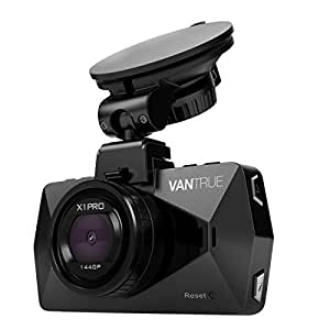 """Vantrue X1 Pro Dash Cam in Car Dashboard Camera DVR 2.5K 1440P Full HD Dashcam 170°Wide Angle 2.7"""" LCD with HDR G-Sensor Loop Recording Motion Detection"""