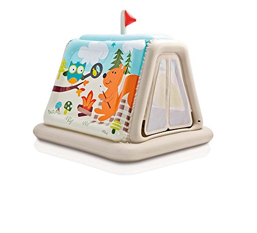 Intex 48634NP Spielzelt Animal Trails Indoor, aufblasbar (Aufblasbares Zelt Kinder)