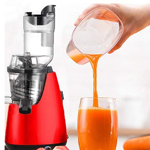RENYAYA Langsame Juicer Masticating Juicer Maschine 3 in 1 Juicers Ganzes Obst und Gemüse mit Quiet Motor, leicht zu reinigen,Europe,smallcaliber