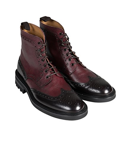 GREEN GEORGE Herren Budapester-Boots in Braun-Bordeaux appaloosa 277/ scotch 1072