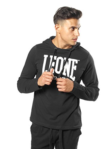 Leone 1947Never Out Stock, Herren Kapuzenpullover, schwarz (schwarz)