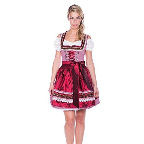 Mini Dirndl Liesl in Rot von Krüger Dirndl Rot