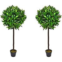 Árboles artificiales bigdug 121,92 cm/120 cm - calidad mirada Natural (2 unidades)