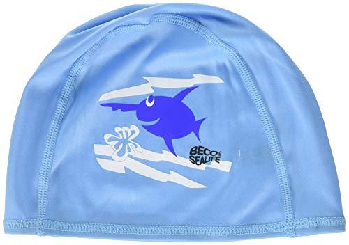 Beco Beermann GmbH & Co. KG Kinder Sealife Textilhauben Kappe, blau, One Size -