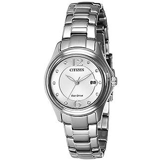 Citizen Analog Silver Dial Women's Watch-FE1130-55A