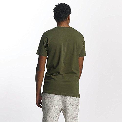 Just Rhyse Uomo Maglieria/T-Shirt Kasaan Oliva
