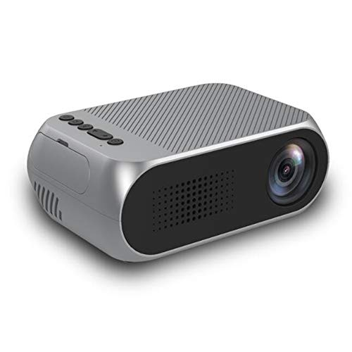 YRYH Videoprojektor LED 80 Zoll tragbare Anzeige Multimedia /30000 Stunden HD 1080 P HDMI TF AV USB Laptop TV Box Telefon/Heimkino Unterhaltung No Noise Version Projektor,Gray - Big-screen-sony-smart-tv