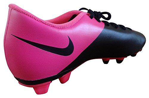 Nike Mercurial Vortex Ii Fg 651647 Herren Fußballschuhe Training Schwarz / Pink (Schwarz / Schwarz-Rosa-HYPR HYPR KNP)