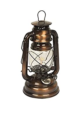 No label Storm Lantern, Brown, 25 cm from No Label