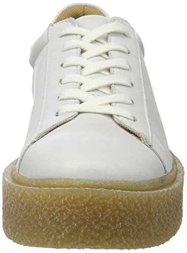 BIANCO Chunky Plim Shoe Jfm17, Scarpe basse Donna Bianco (bianco)