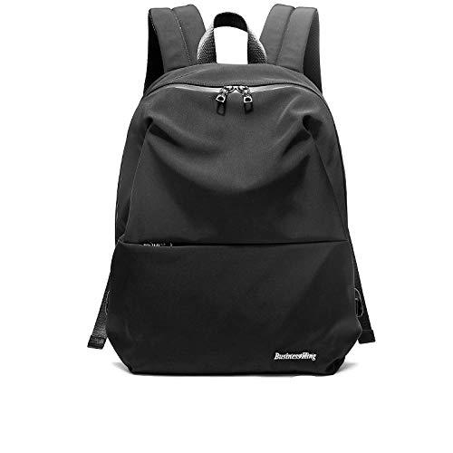 Wave Jahato Herrentrendrucksack, lässiger minimalistischer Rucksack, Computertasche, Studententasche, Outdoor-Reisetasche für Herrenmode - Rucksack Minimalistischer