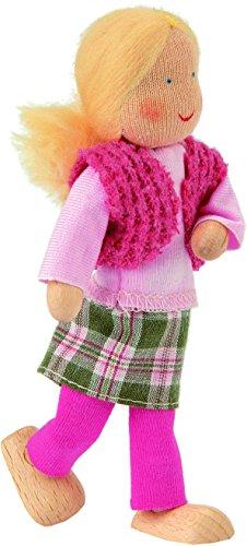 Käthe Kruse 66409 - Waldorf Biegepuppe Mutter Lilli, rosa