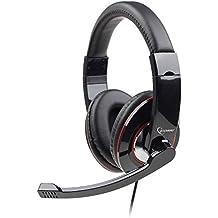 Gembird MHS 001 - Auriculares con micrófono, negro