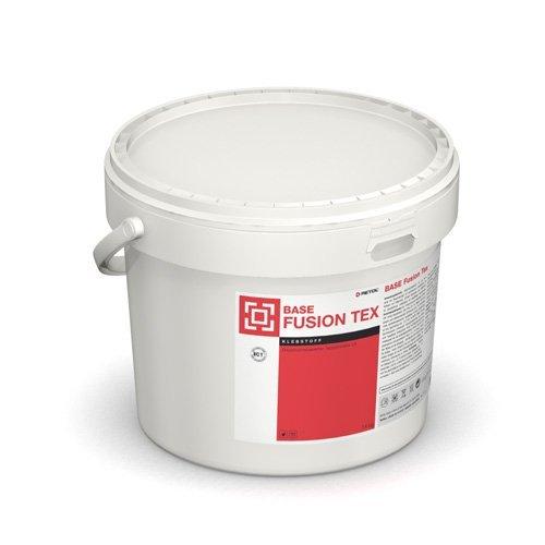 Teppichkleber BASE Fusion Tex, emissionsarm (14 kg) Kleber für Textilbeläge / PVC- Verbundbeläge / Korkteppiche / Basis: Acrylat-Dispersion