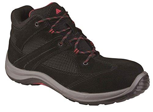 Delta Plus VIRAGES1P Chaussures élevés Botte de travail de sûreté Non métallique Black