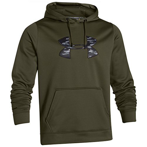 Under Armour Herren Rival Fitted Pull Over Oberteil Greenhead/Black