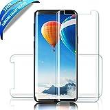 SGIN Galaxy S9 Plus Verre Trempé,[Lot de 2]0.33mm en Verre trempé écran - ANTI RAYURES - SANS BULLES D'AIR -Ultra Résistant Dureté 9H - Compatible 3D Touch Glass Screen Protector pour Samsung Galaxy S9 Plus - Transparent