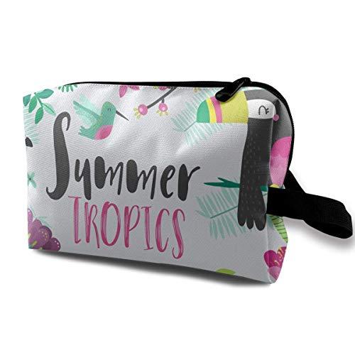 Sommer Herde Flamingo Reisen Make-up Taschen Kosmetiktasche Reißverschluss - Sommer Bronze Kit