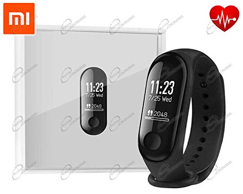 Xiaomi Mi Band 3 Fitness Tracker Smart Band Smartband 50m Impermeable OLED Touchpad Monitor de Ritmo cardíaco Pulseras Pulsera
