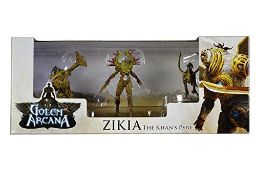 Golem Arcana: Zikia Expansion:The Kahn's Pyre(Figure Set