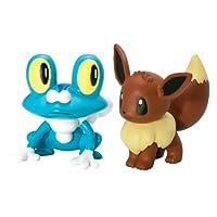 Pokemon XY Doppel Pack - Froakie & Evoli [UK Import]