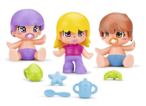 Pinypon- Niños y Bebés, Pack B (Famosa 700014032)