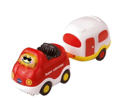 Vtech - VT5496 - Remorque - Timothée Super Cabriolet + Caravane 3417762152057
