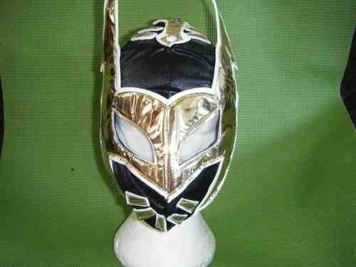 Schwarz Sin Cara Wrestler Wrestling Maske für Kinder Kids Jungen mexikanischen Mädchen WWE WWF FANCY DRESS UP Kostüm Outfit Serie Cosplay Rollenspiel mexikanischen luchalibre New