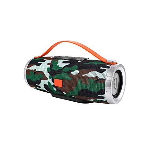 Drahtlose Bluetooth-Lautsprecher tragbare wasserkocher Griff tf Card eingebautes mikrofon fm -D 8x7.6x17.7cm(3x3x7) Speaker-griffe