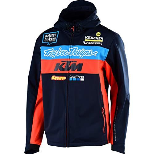Troy Lee Designs Jacke KTM Team Pit Blau Gr. XL