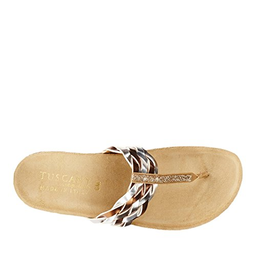 Easy Street Bene Synthétique Tongs Metallic Multi