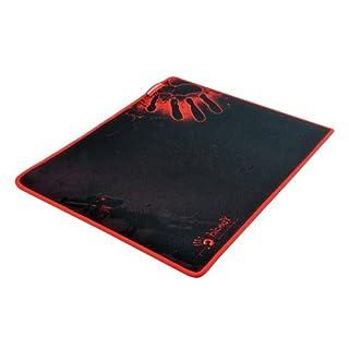 A4 Tech Bloody B-081–Mouse Mat (Black, Monotone, Fabric, Rubber, Universal, 35cm, 28cm)