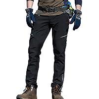 7VSTOHS Pantalones de Ciclismo para Hombre Respirable secar rapidamente Pantalones de Ciclismo a Prueba de Viento para Ciclismo Pantalones Deportivos Ligeros y cómodos