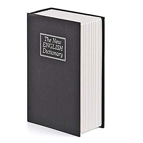 Caja de Seguridad en Forma de Libro, Frontoppy Libro de Seguridad con Bloqueo de Teclas, Caja Diccionario...