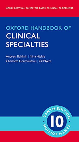 Oxford Handbook of Clinical Specialties (Oxford Medical Handbooks)