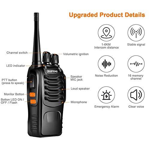 Zoom IMG-2 cacagoo 2pz walkie talkie a