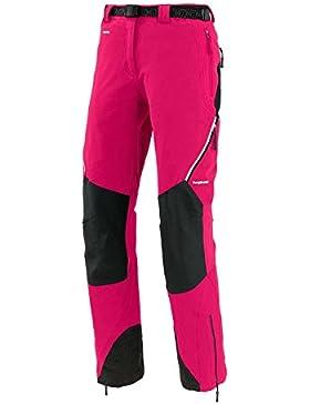 Trango Uhsi Extreme Ua - Pantalón largo para mujer, color rosa/gris, talla XS